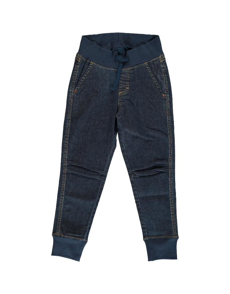 Maxomorra Maxomorra - broek, jogger, denim medium dark wash (3-16j)