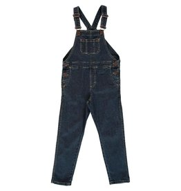 Maxomorra Jeans salopet, medium dark wash (3-16j)