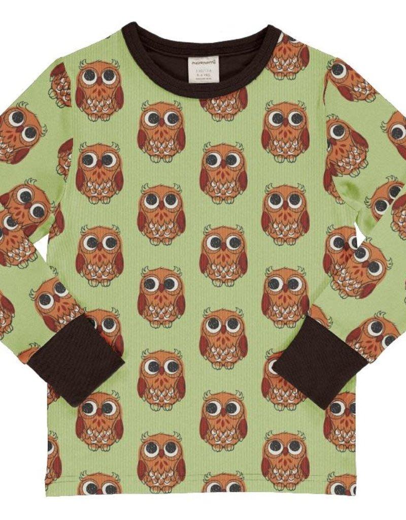 Maxomorra Maxomorra - shirt, owl (3-16j)