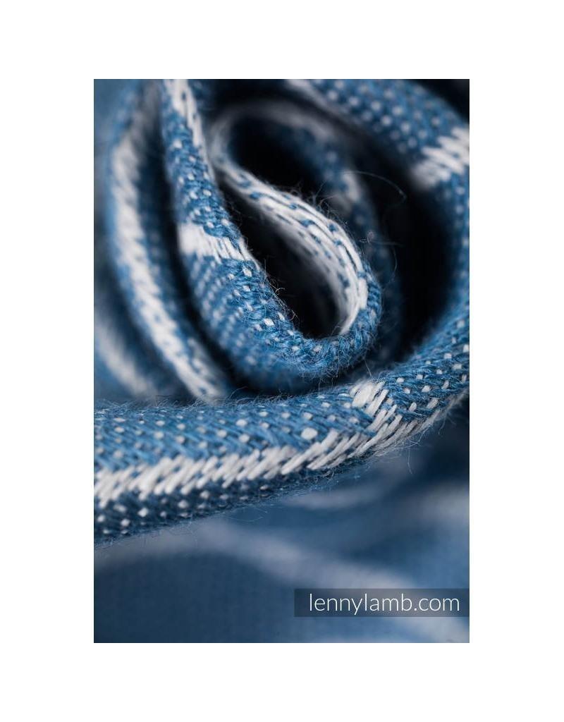 LennyLamb LennyLamb - geweven doek Lotus blue, linnen, maat 6 (4,6 m)
