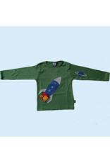 Ubang Ubang - shirt, hedge green, rocket (3-16j)