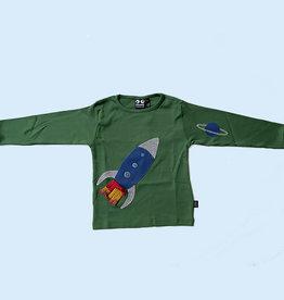 Ubang Shirt, hedge green, rocket (3-16j)
