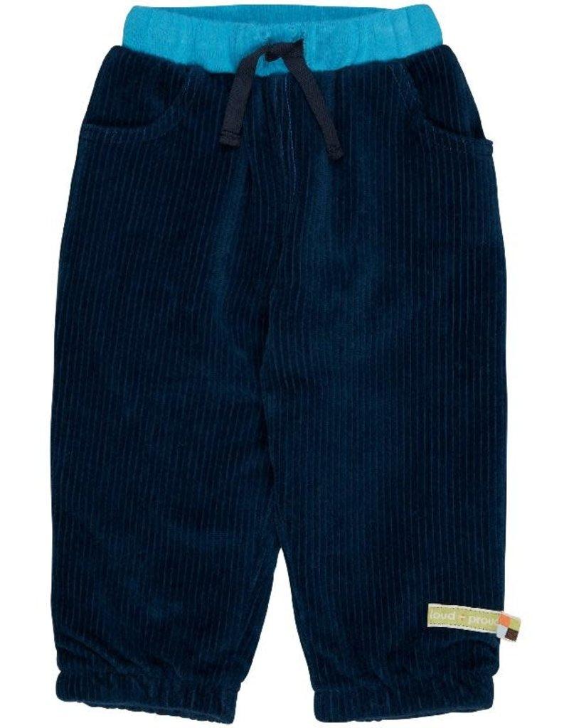 Loud+Proud Loud+Proud - pants, cord, ultramarine (3-16j)