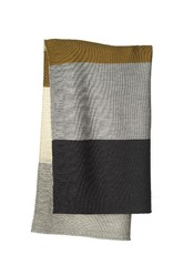 Disana Disana - deken, knitted, gold/grey, 100 x 80 cm