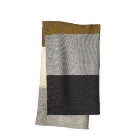 Disana Deken, gold/grijs