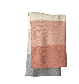 Disana Deken, roze/ecru