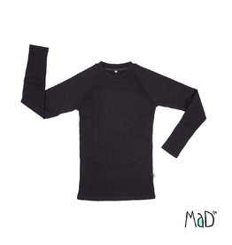MaD Thermal shirt, foggy black