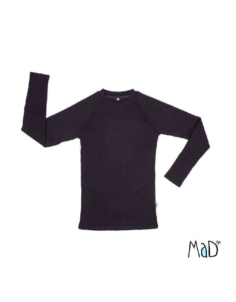 MaD MaD - thermal shirt, foggy black