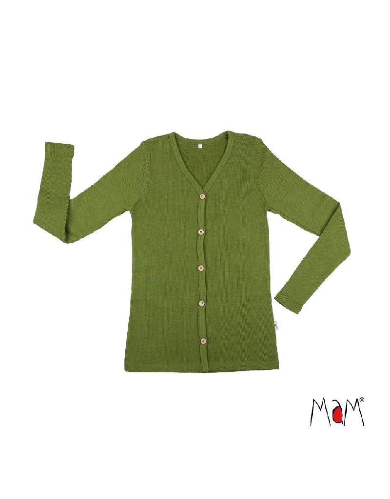 MaM MaM - cardigan, wol, garden moss green