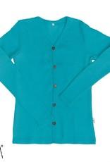 MaM MaM - cardigan, wol, royal turquoise