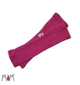 MaM Lange handschoen zonder vingers, frosted berry