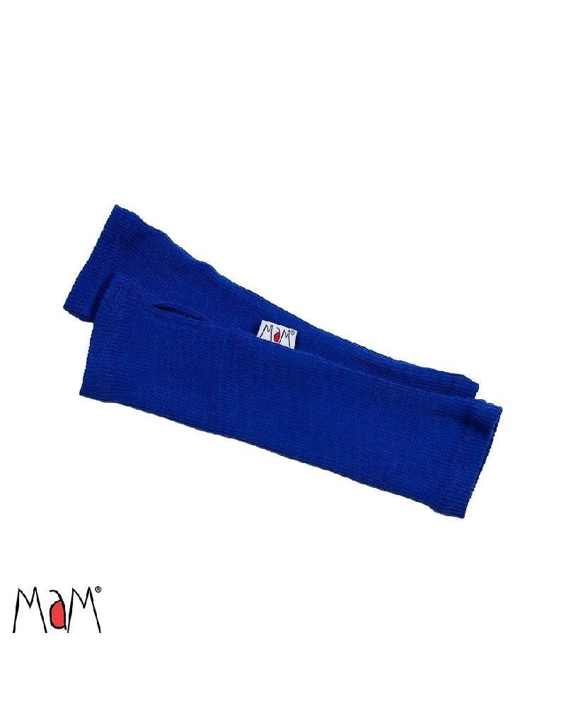 MaM MaM - handschoen, lang, wol, zonder vingers, jewel blue