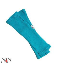 MaM Lange handschoen zonder vingers, royal turquoise