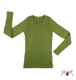 MaM Shirt, wol, garden moss green