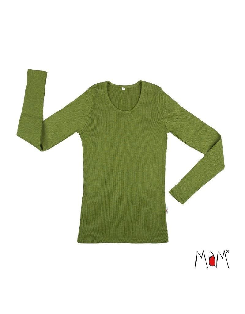MaM MaM - shirt, wol, garden moss green