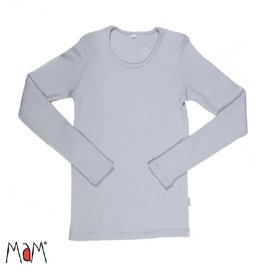 MaM Shirt, wol, bright silver