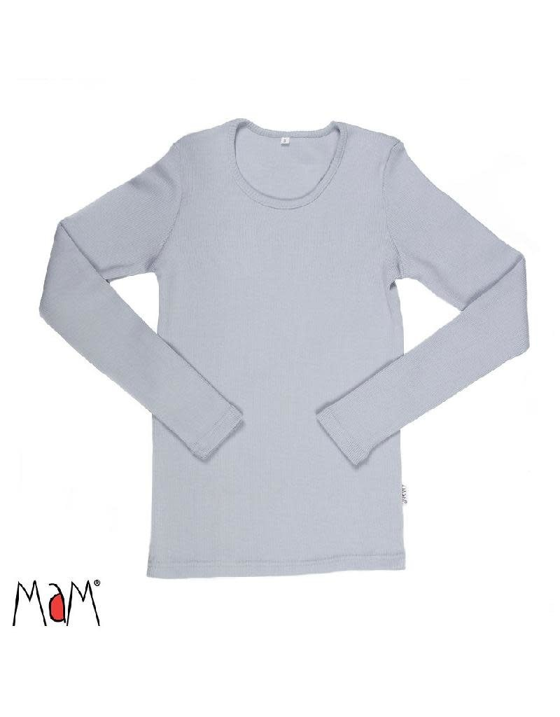 MaM MaM - shirt, wol, bright silver