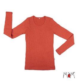 MaM Shirt, wol, rooibos red
