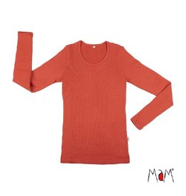 MaM Shirt, wol, rooibos red