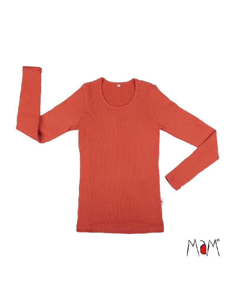 MaM MaM - shirt, wol, rooibos red