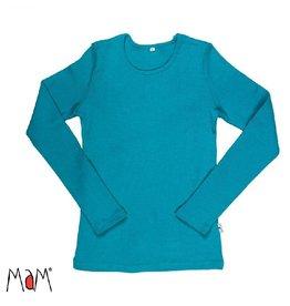 MaM Shirt, wol, royal turquoise