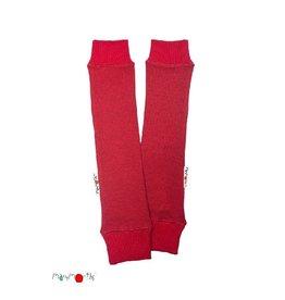 ManyMonths Arm- en beenverwarmers, raspberry red