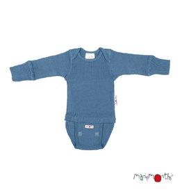 ManyMonths Body/shirt, ls, wol, cosmos blue (0-2j)