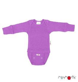 ManyMonths Body/shirt, ls, wol, lavender crystal (0-2j)