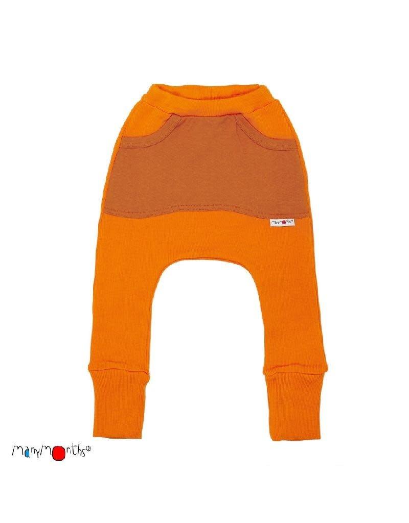 ManyMonths ManyMonths - broek, kangaroo, wol, festive orange (3-16j)