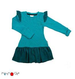 ManyMonths Fairy jurk, royal turquoise (0-2j)