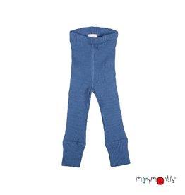 ManyMonths Legging, unisex, wol, cosmos blue (0-2j) (0-2j)