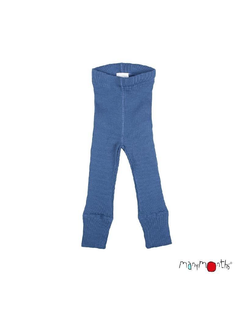 ManyMonths ManyMonths - legging, unisex, wol, cosmos blue (0-2j) (0-2j)