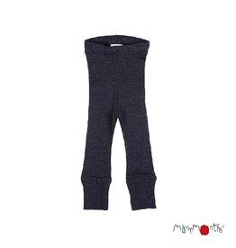 ManyMonths Legging, unisex, wol, foggy black (3-16j)