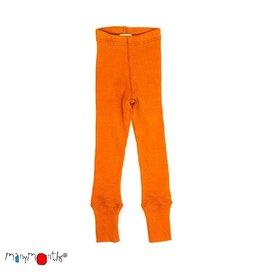 ManyMonths Legging, unisex, wol, festive orange (0-2j)