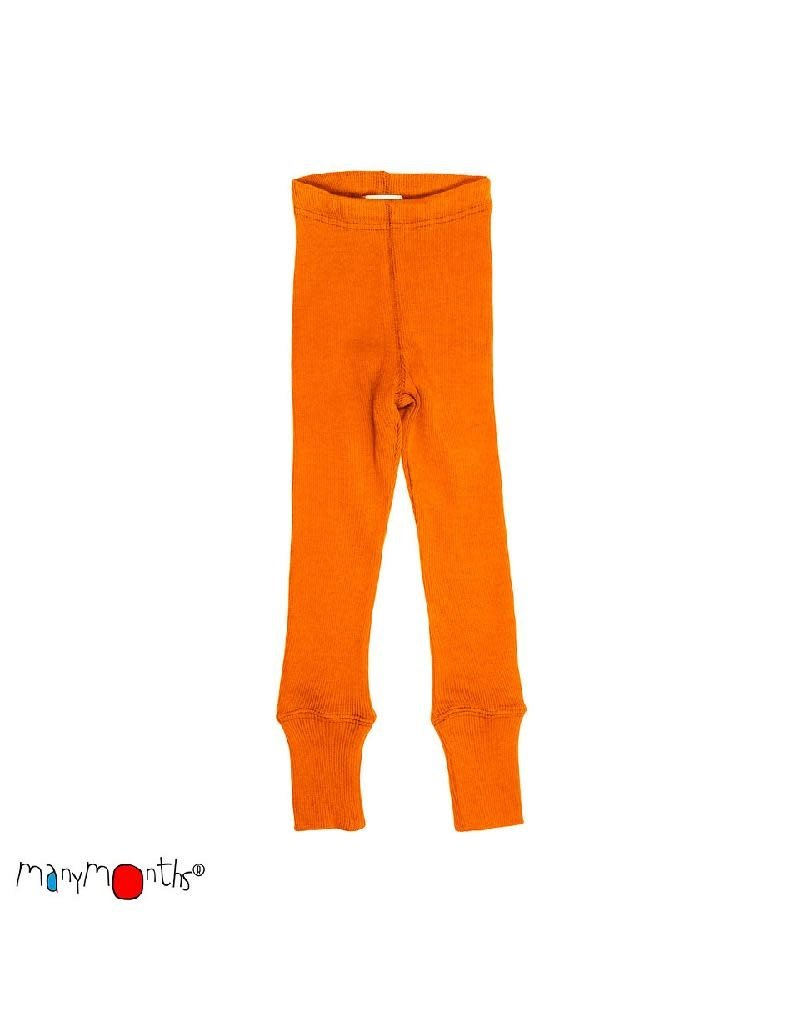 ManyMonths ManyMonths - legging, unisex, wol, festive orange (0-2j)