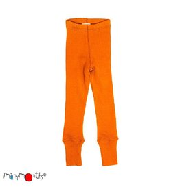 ManyMonths Legging, unisex, wol, festive orange (3-16j)