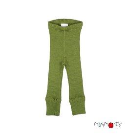 ManyMonths Legging, unisex, wol, garden moss green (3-16j)