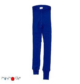 ManyMonths Legging, unisex, wol, jewel blue (3-16j)