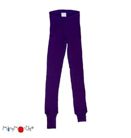 ManyMonths Legging, unisex, wol, majestic plum (3-16j)