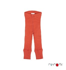 ManyMonths Legging, unisex, wol, rooibos red (0-2j)