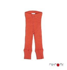 ManyMonths Legging, unisex, wol, rooibos red (3-16j)