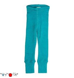 ManyMonths Legging, unisex, wol, royal turquoise (3-16j)