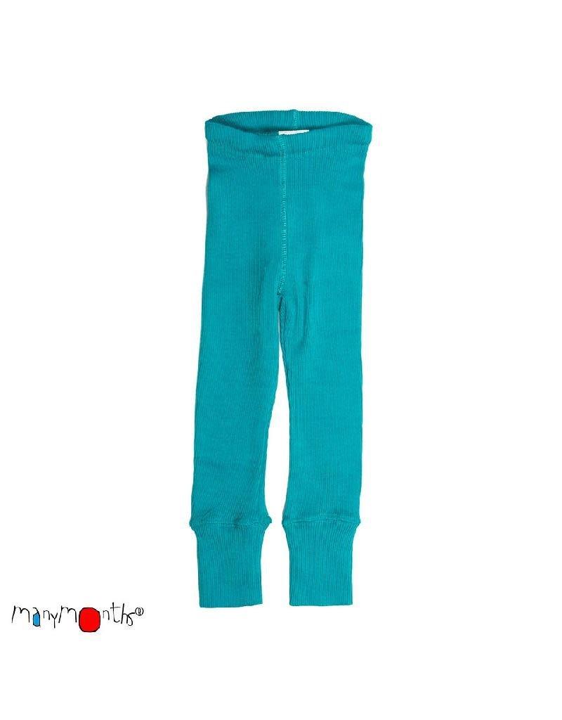 ManyMonths ManyMonths - legging, unisex, wol, royal turquoise (3-16j)