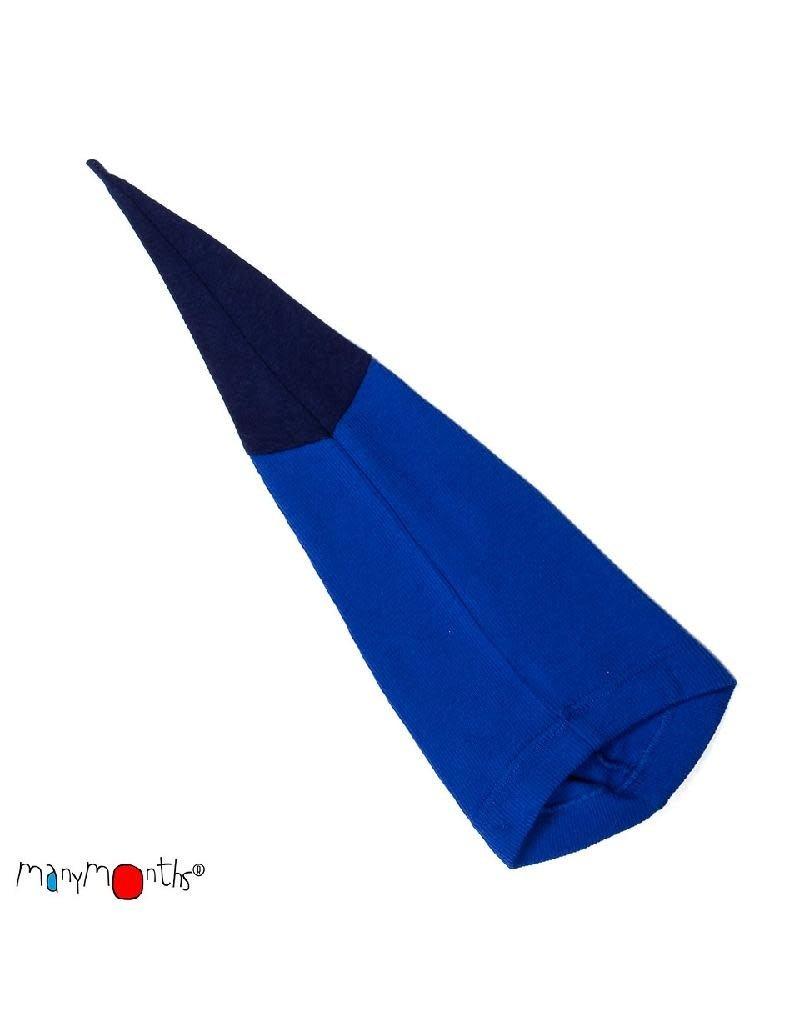 ManyMonths ManyMonths - muts, beanie, long tail, wol, jewel blue (0-2j)