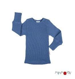 ManyMonths Shirt, wol, cosmos blue (3-16j)