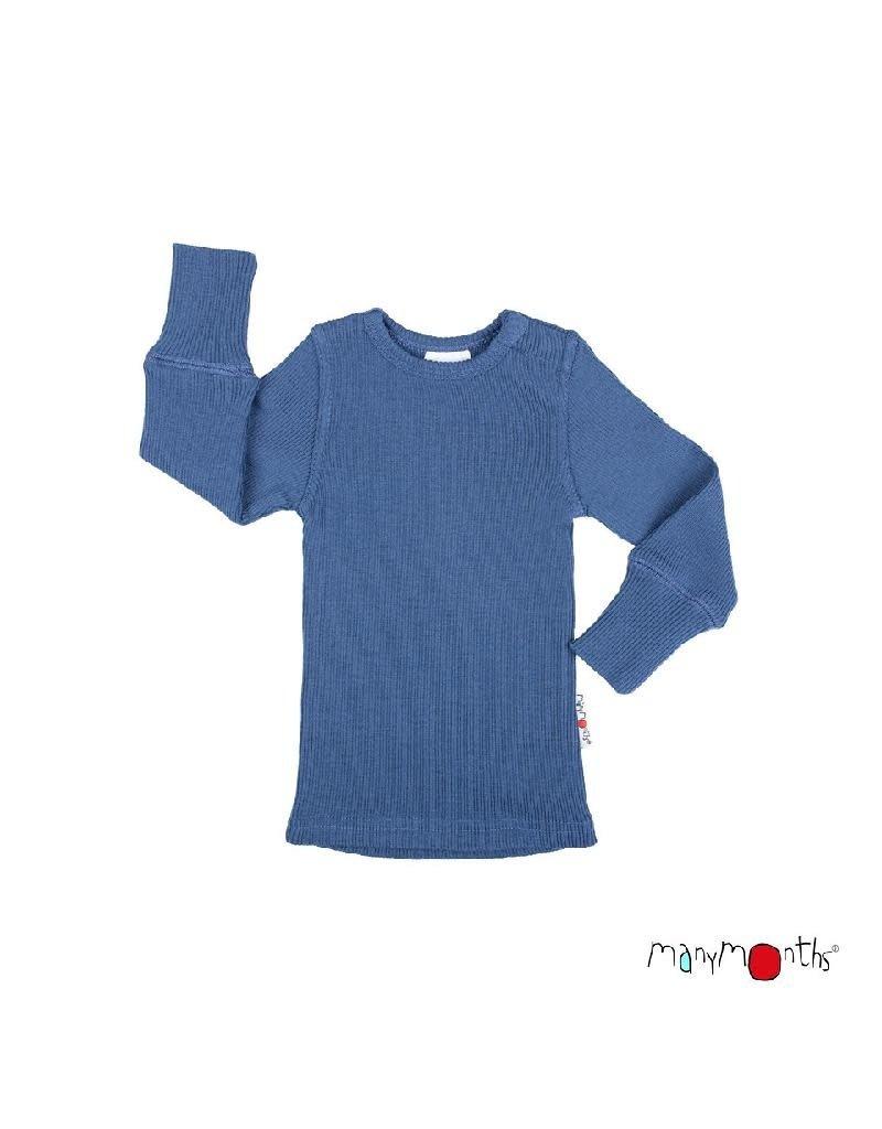 ManyMonths ManyMonths - shirt, wol, cosmos blue (3-16j)