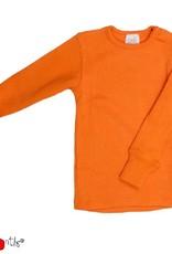 ManyMonths ManyMonths - shirt, wol, festive orange (0-2j)