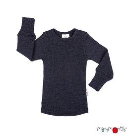 ManyMonths Shirt, wol, foggy black (3-16j)