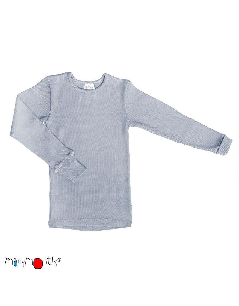 ManyMonths ManyMonths - shirt, wol, bright silver (3-16j)