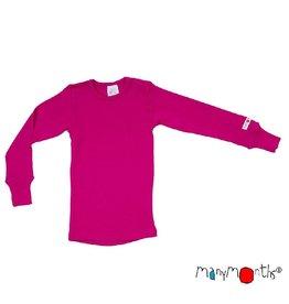 ManyMonths Shirt, wol, lilac rose (0-2j)